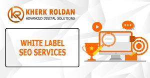 White Label SEO Services